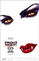 Fright Night Part II - (white) Wall Poster