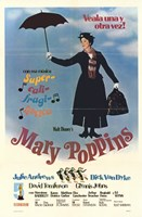 Mary Poppins (spanish) Wall Poster