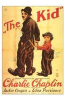 The Kid Jackie Coogan Edna Purviance Wall Poster