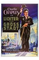 City Lights Wall Poster
