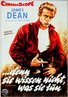 Rebel Without a Cause Smoking German Wall Poster