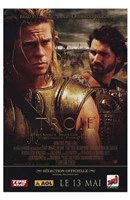Troie - Troy Orlando Bloom and Brad Pitt Wall Poster