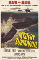Mystery Submarine Wall Poster