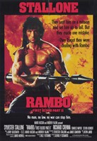 Rambo: First Blood  Part 2 Stallone Wall Poster