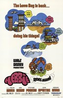 Herbie Rides Again Wall Poster