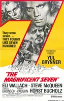 The Magnificent Seven Horst Bucholz Wall Poster