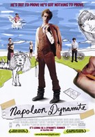 Napoleon Dynamite Nothing to Prove Wall Poster