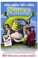 Shrek - Mike Myers Wall Poster