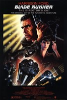 Blade Runner Futuristic Adventure Wall Poster