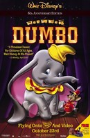 Dumbo with Mouse Wall Poster
