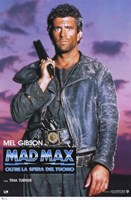 Mad Max Beyond Thunderdome Italian Wall Poster