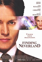 Finding Neverland Johnny Depp Wall Poster