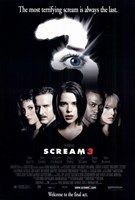 Scream 3 Wall Poster