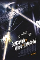 Sky Captain and the World of Tomorrow - style D Wall Poster