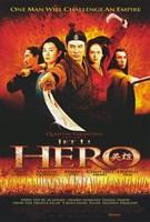 Hero Jet Li Cast Wall Poster