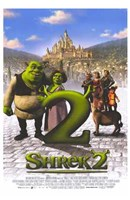 Shrek 2 Castle Wall Poster
