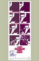 Dirty Harry Purple Wall Poster
