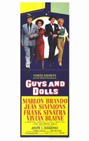 Guys and Dolls Tall Movie Fine-Art Print