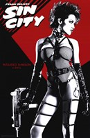 Sin City Rosario Dawson as Gail Wall Poster