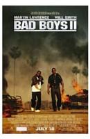 Bad Boys II Movie Wall Poster