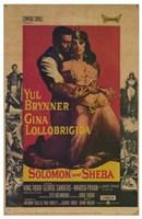 Solomon and Sheba Wall Poster