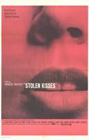 Stolen Kisses Wall Poster