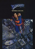 Superman: The Movie Taking Off Wall Poster