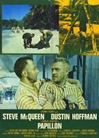 Papillon Greens Wall Poster