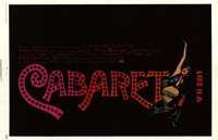 Life is a Cabaret Wall Poster