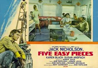 Five Easy Pieces Jack Nicholson Wall Poster