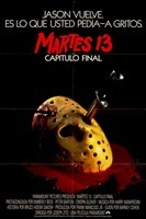 Friday the 13Th Part 4 Spanish Wall Poster