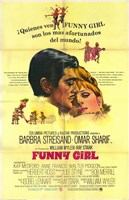 Funny Girl Spanish Wall Poster