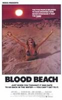 Blood Beach Wall Poster