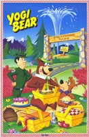 Yogi Bear - cartoon Fine-Art Print