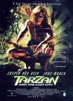 Tarzan and the Lost City, c.1998 - style A Wall Poster