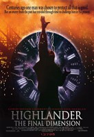 Highlander the Final Dimension Wall Poster