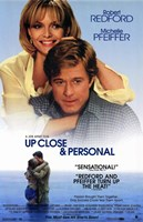 Up Close and Personal movie poster Wall Poster