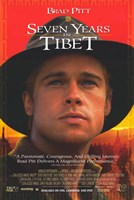 Seven Years in Tibet Brad Pitt Wall Poster