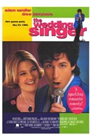 The Wedding Singer Sandler And Barrymore Wall Poster