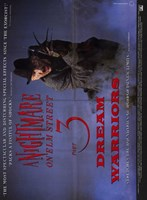 Nightmare on Elm Street 3: Dream Warrior Film Wall Poster
