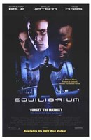 Equilibrium - Forget the Matrix Wall Poster