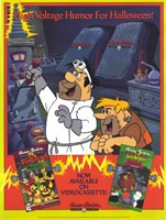 Hanna Barbera Home Video Wall Poster