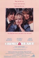 Crimes of the Heart Diane Keaton Wall Poster
