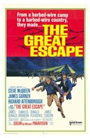 The Great Escape barbed wire camp Wall Poster
