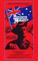 Breaker Morant - tall red Wall Poster
