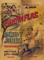 Romeo and Juliet (spanish) cantinflas Wall Poster