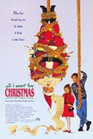 All I Want for Christmas Wall Poster