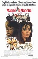 Man of La Mancha Sophia Loren Wall Poster