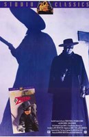 The Mark of Zorro Silhouette Wall Poster
