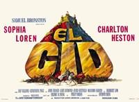 El Cid - horizontal Wall Poster
